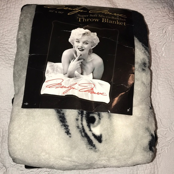 Marilyn Monroe Other Soft Throw Blanket Poshmark Enchanting Marilyn Monroe Throw Blanket